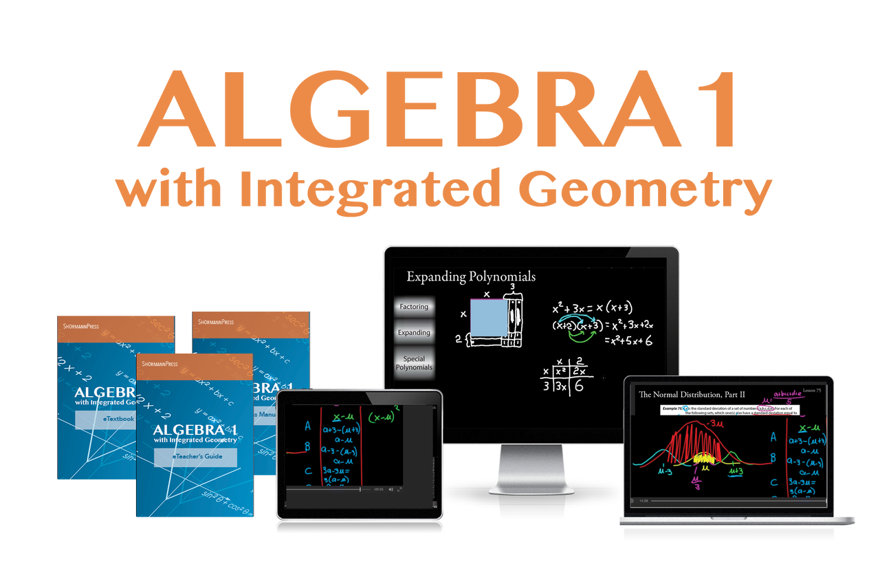 Shormann Interactive Math: Algebra 1, Algebra 2, and Precalculus