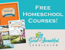 Free homeschool courses - the Good and the beautiful curriculum