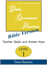 daily grammar practice bible version