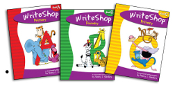 WriteShop Primary, Books A, B, and C and WriteShop Junior, Books D, E, and F
