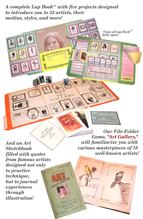 Hands-On History Activity Paks and Lap-Paks