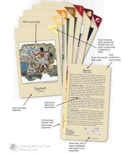 Classical Acts and Facts History Cards
