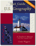 Trail Guide to World Geography, Trail Guide to U.S. Geography, Trail Guide to Bible Geography