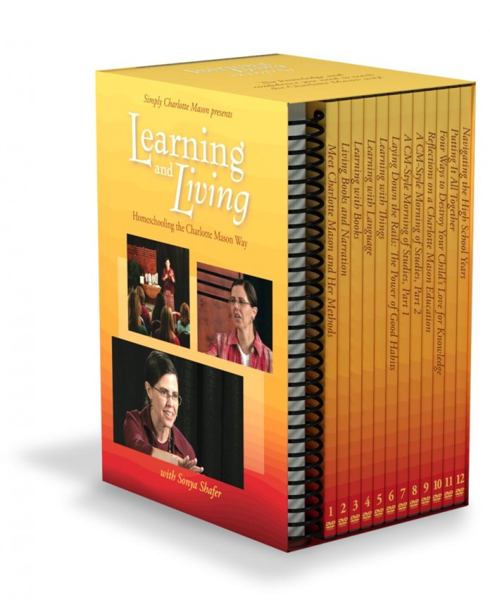 Learning and Living: Homeschooling the Charlotte Mason Way DVD seminar