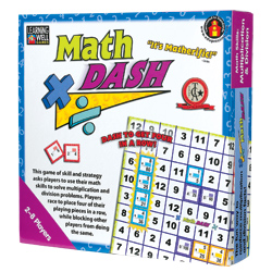 Math Dash Board Games