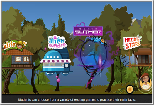 Reflex math screenshot