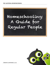 Homeschooling: A Guide for Regular People e-book