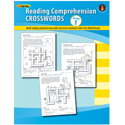 Reading Comprehension Crosswords