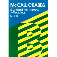 McCall-Crabbs Standard Test Lessons in Reading, Books A - F
