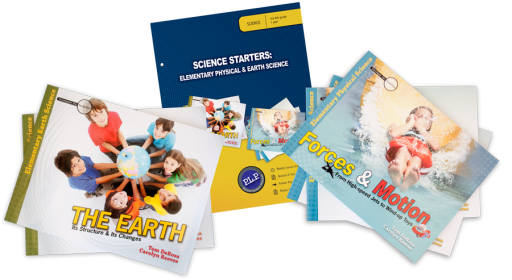 Master Book Science courses for grades 3 through 8