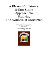 A Blessed Christmas: A Unit Study Approach To Studying The Symbols of Christmas