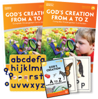 My Father's World - God's Creation from A to Z: Complete Kindergarten Curriculum