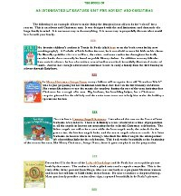 The Books of an Integrated Literature Unit for Advent and Christmas