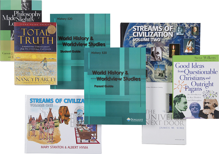 Sonlight's History 520 World History and Worldview Studies