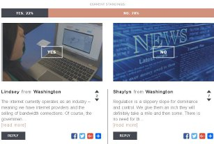 Constitution Connection – online debates