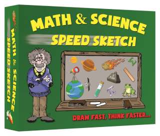 Math and Science Speed Sketch game