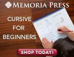 Memoria Press Cursive