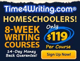 Time4Writing - composition and grammar