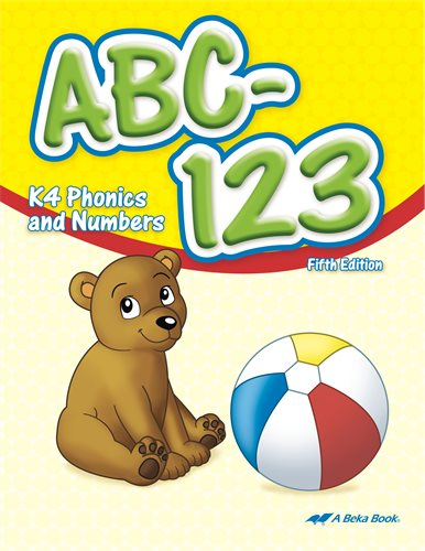 ABC-123 - learn to write letters and numbers
