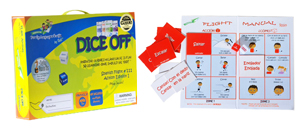 foreign languages for kids DiceOff game