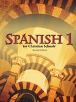 Bob Jones Spanish 1, 2 and 3