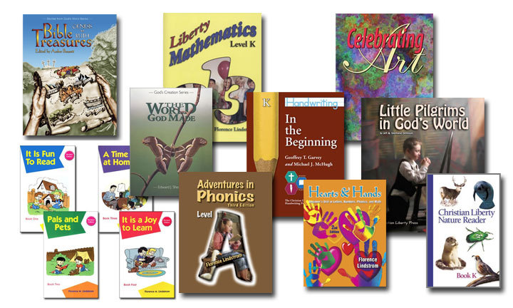 Christian Liberty Press Kindergarten Curriculum Kit