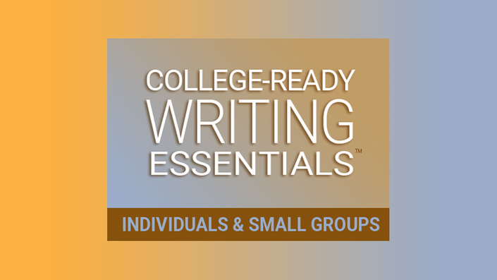 College Ready Writing Essentials