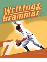 Writing and Grammar 7 and 8, third editions