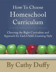 Cathy Duffy Homeschool Curriculum Reviews
