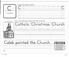 Writing Our Catholic Faith Handwriting