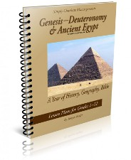 Simply Charlotte Mason History: Genesis-Deuteronomy and Ancient Egypt