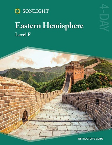Eastern Hemisphere (Sonlight History, Bible, and Literature F)