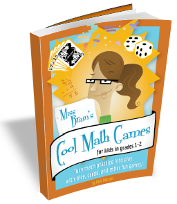 Miss Brain's Cool Math Games for kids in grades 1-2