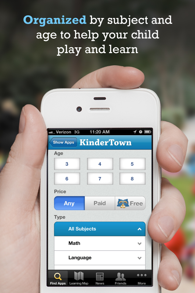 KinderTown app