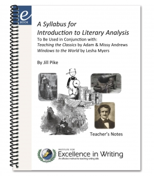 syllabus for introduction to literary analysis