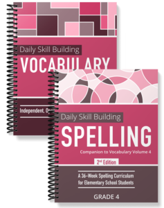 Daily Skill Building: Vocabulary and Spelling