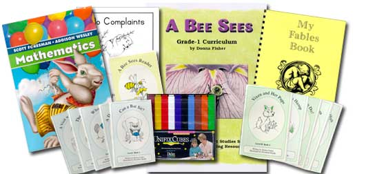 A Bee Sees, an alternative first grade unit study program