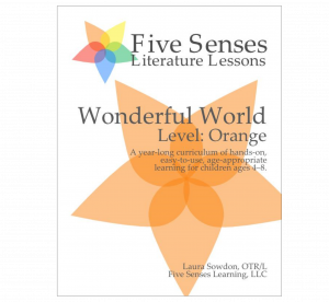 Five Senses Literature Lessons for Young Children