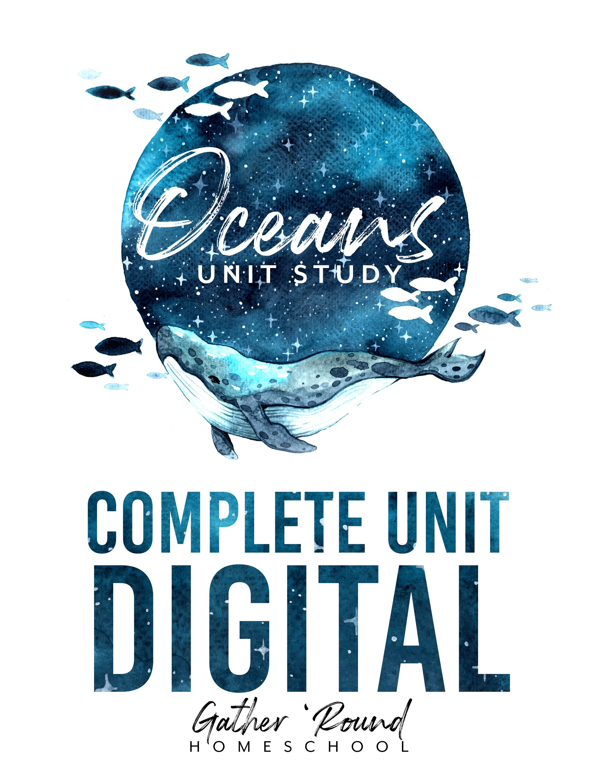 Oceans Unit Study from Gather 'Round Homeschool